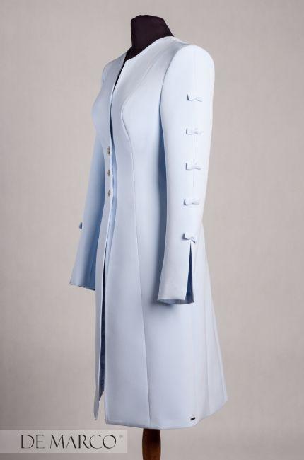 🧐👌 Perfekcyjny :D , elegancki płaszcz do sukienki, NOWY FASON szyty na miarę!