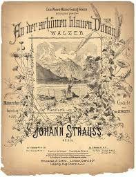 Strauss, An der schoenen blauen Donau