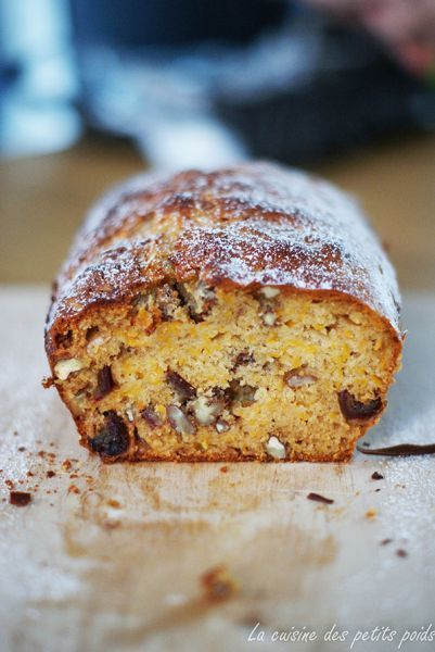 Cake butternut, dattes et noix de pécan. - Recette Ptitchef