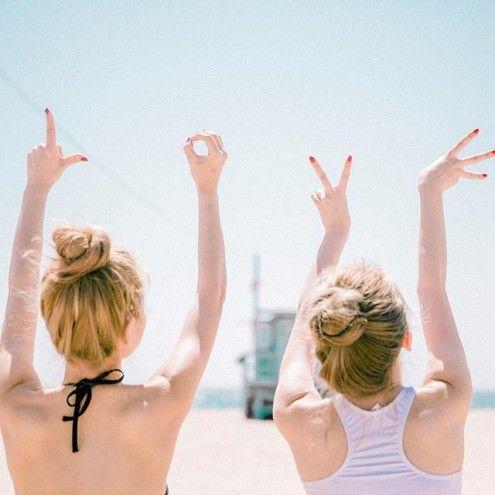 Estas son las 19 fotos que TIENES que tomarte con tus amigas para recordar en el futuro - Imagen 1