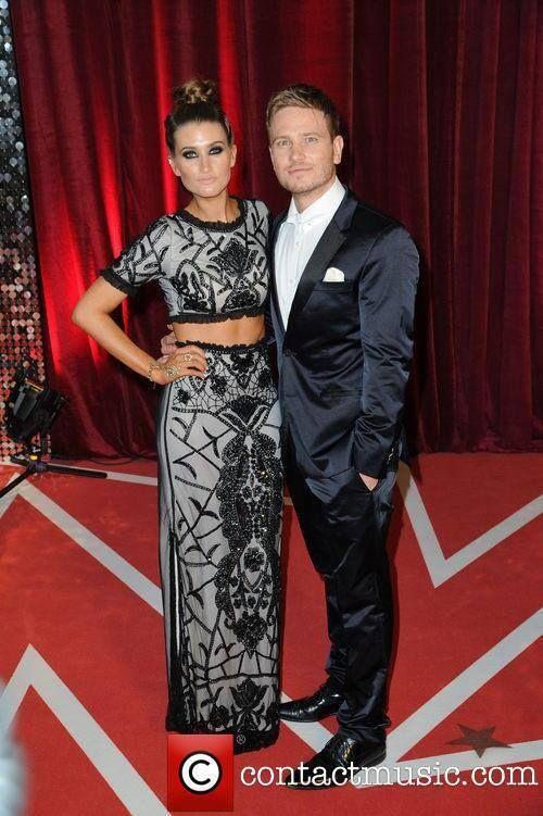 Charley Webb wearing Liz & Caroline