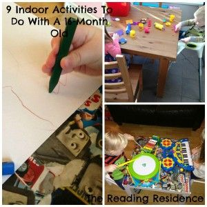 9 indoor activities for a 16 month old