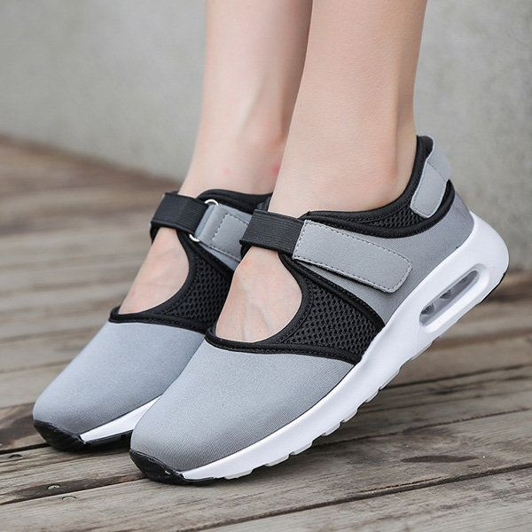 Breathable Mesh Hook Loop Kültéri Alkalmi cipő