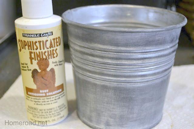 Rust Antiquing Solution