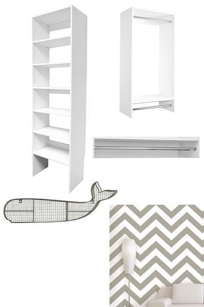Modular Closet DIYs: Kid's Bedroom Closet - Modular Closets