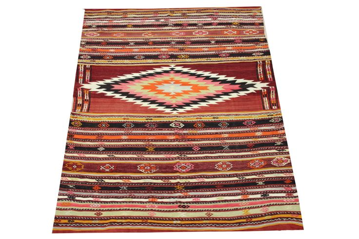 Antique Turkish Kilim rugs 9,0 x 5,9 Feet Boho Kilim rugs Oriental Rug Handwoven rug Vintage Area Rug natural dye wool rug Y-1239 by stripepattern on Etsy