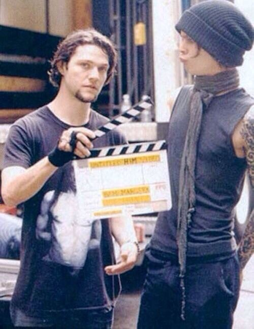 Ville Valo and Bam Margera