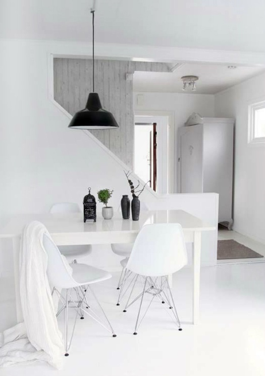 #Inspiration - #Repas - #Dining - #Salle - #Nordique - #Scandinave - #Nordic - #Scandinavian - #Decoration