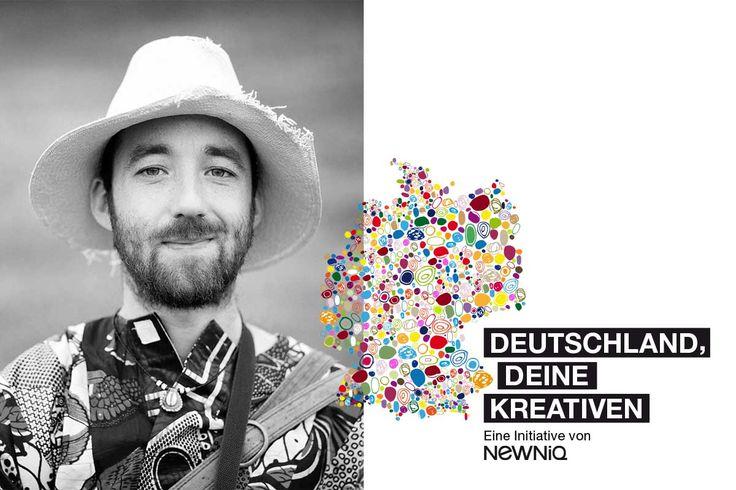 Deutschland, deine Kreativen: Afrikanische Musik & Blues von Gitarrist Nick Morrison