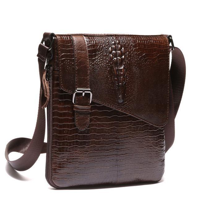 WESTAL Genuine Leather Men Bag Fashion Male Small Briefcase Men's Messenger Man Casual Crossbody Bags Shoulder Handbag 8239