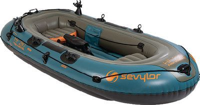 Sevylor C001 Fish Hunter Inflatable Boat (4 Person)