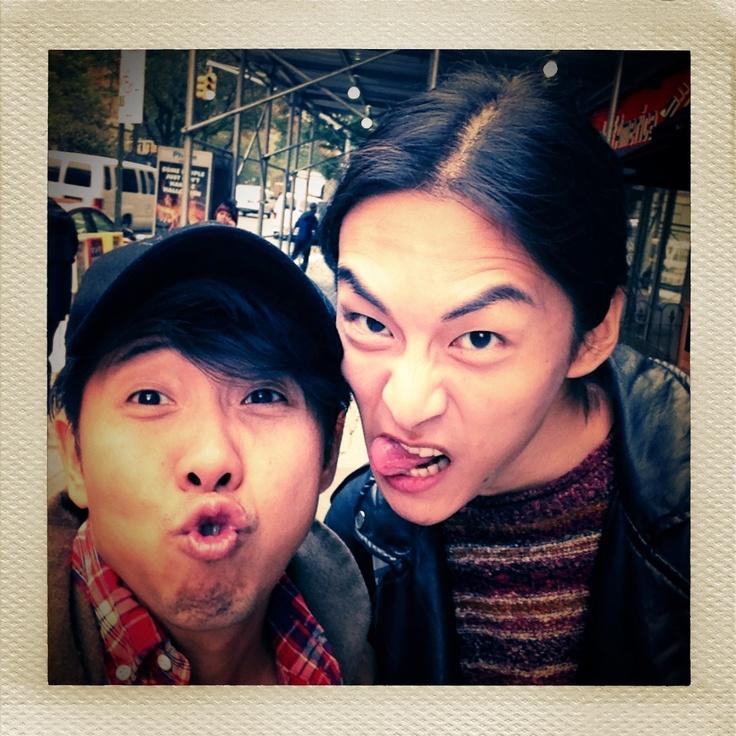 With Chiun-Kai Shih...