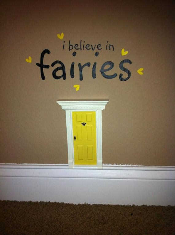 Use for the tooth fairy to enter the room Fairy Door Fairy Doors by UnbelievableFD on Etsy