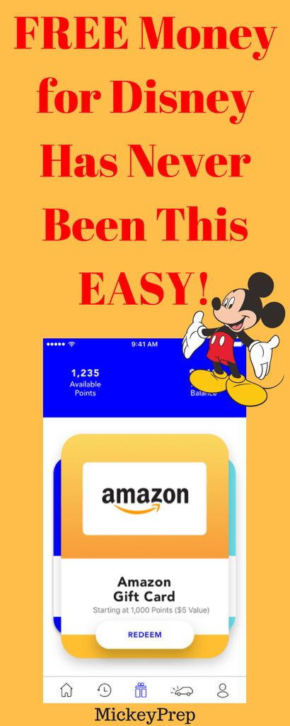 How to earn free money for your next Walt Disney World Vacation!