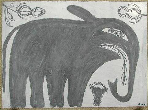 Khovar Painting on Paper