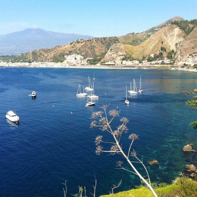 Vista da Capo Taormina
