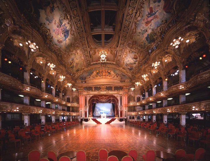 Blackpool ballroom...where every dancer aspires to dance one day