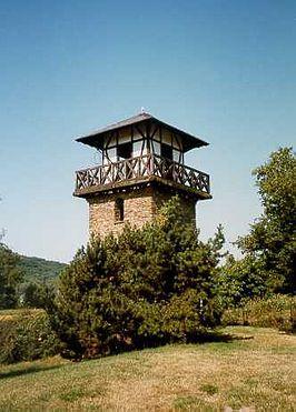 DE LIMES // Gordel van verdedigingstorens. Wachttoren ter bewaking  waar men van de een naar de andere lichtsignalen afgaf.