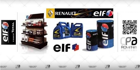 Lubrifianti, uleiuri de motor ELF  ELF Lubricants - RENAULT - ELF    Accesorii Auto - CPA Romania