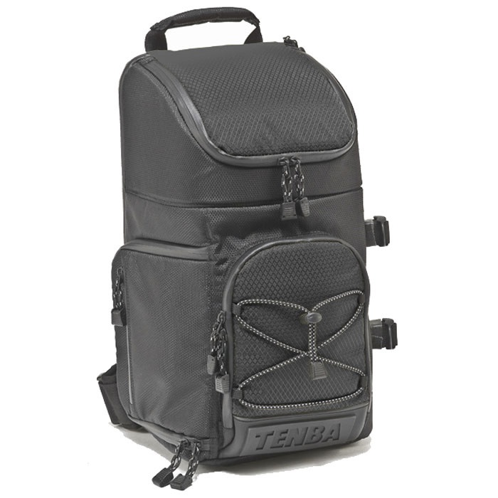 £76.50 Tenba Shootout Sling Bag - Medium - The Sling is a single-strap, quick access bag that swings around for fast shooting without removing the pack. Tenba's exclusive design converts to a lightweight long-lens bag for top-loading your mounted super telephoto lens (up to 300mm f/2.8). A full access back panel opens the main compartment completely, to allow easy setup and cleaning. Think of it as a backpack without the bulk, or a shoulder bag without the strain.