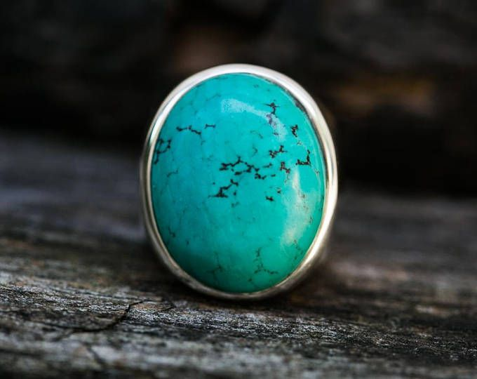 Turquoise Ring 11 - Turquoise Mens Ring size 11 - Mens Turquoise Ring - Mens Ring - Turquoise Jewelry - Sterling Silver Turquoise size 11