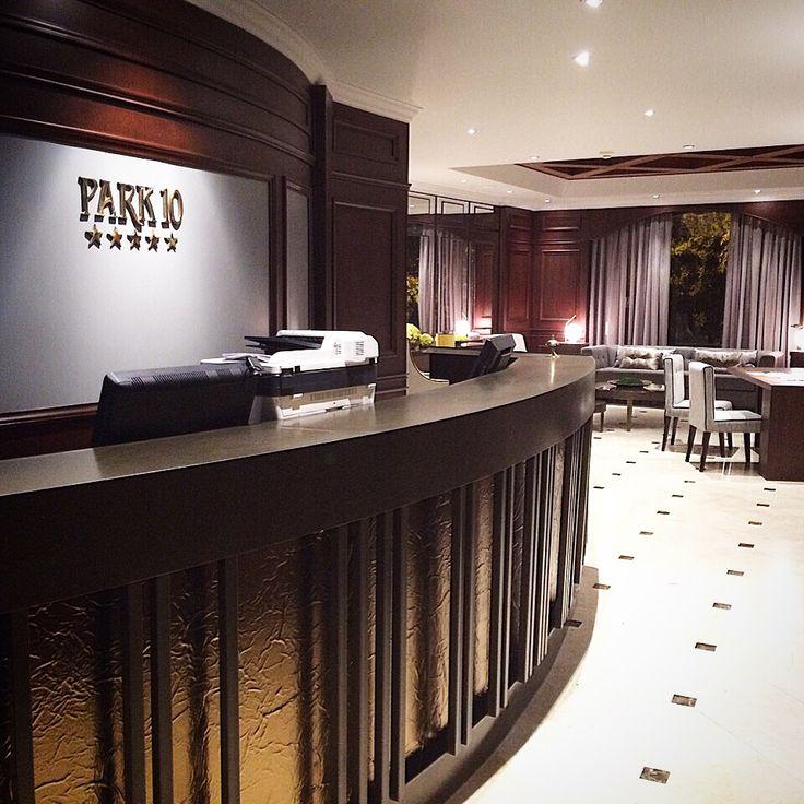 Recepción Hotel Park 10 en Medellín Colombia