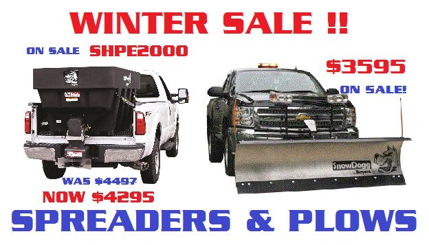 #winter is here and our #snowdogg #md75 #plows are on #sale now for $3595 installed. Dont pass up this great savings!!