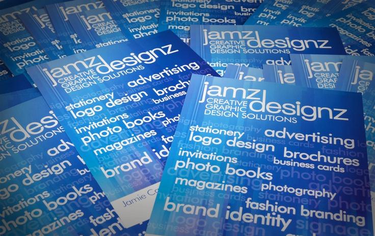 Jamz Designz promotional flyers   www.jamzdesignz.com