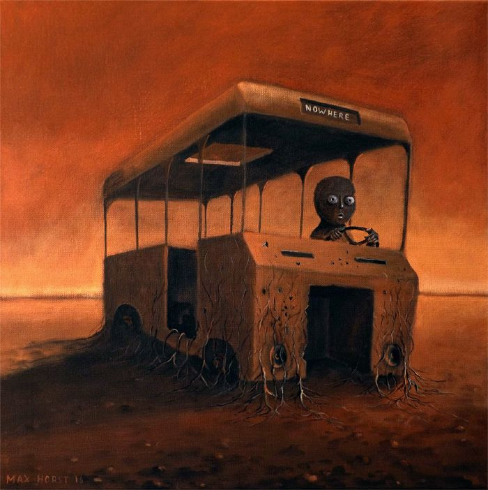 Last Bus by Max Horst