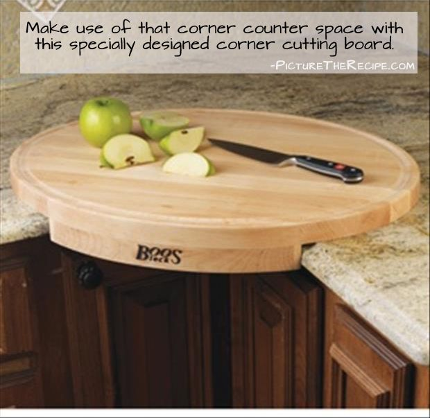 corner cutting board. More Creative Kitchen Products That Are Borderline Genius (40 Pics)