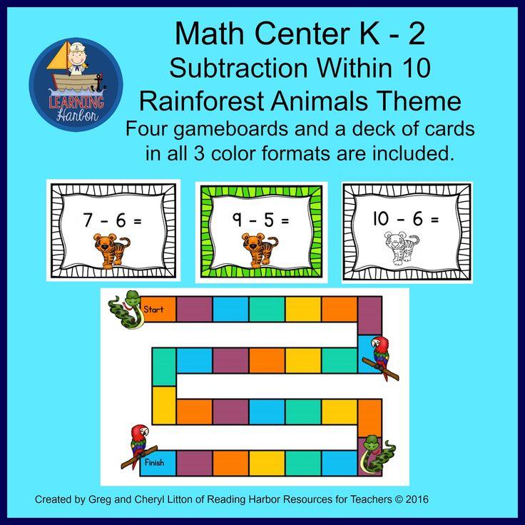 132 best Math Centers images on Pinterest   Math activities, 3rd ...