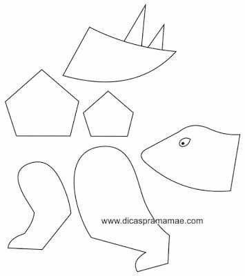 Dino 2 molde