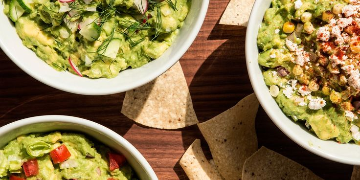 Nuts! Herbs! Fruit! Add them all to your guacamole.