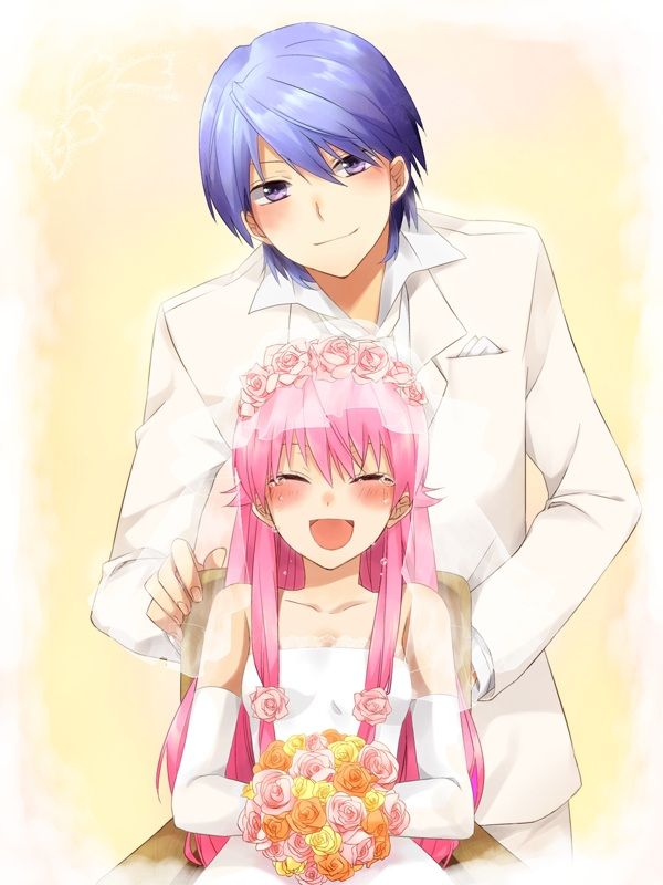 Angel Beats! Yui and Hinata's Wedding  T-T The Feels...*Cries*