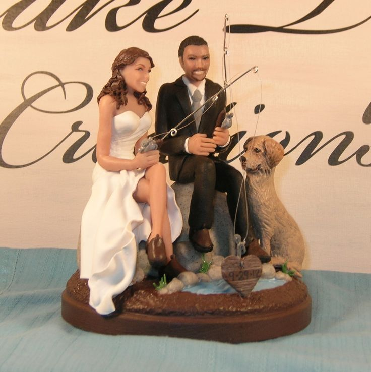 Fishing Themed Cake Toppers