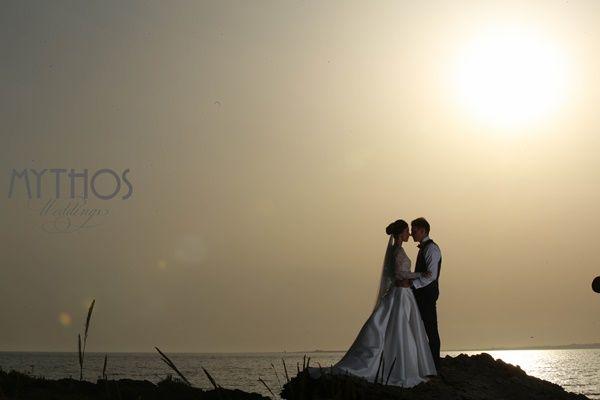 When the sun goes down - sunset photo - amazing #weddingphotos #sunsetingreece #weddinginkefalonia