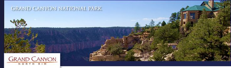 If you go to the Grand Canyon, stay here! Higher elevation, meadow environment, calm and not as many tourists! The main lodge is built into the rim of the canyon and has patios on either side.  Great to watch the sun rise or set.  Going back there again!