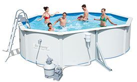 Hydrium Titan Steel Above Ground Swimming Pool Packages