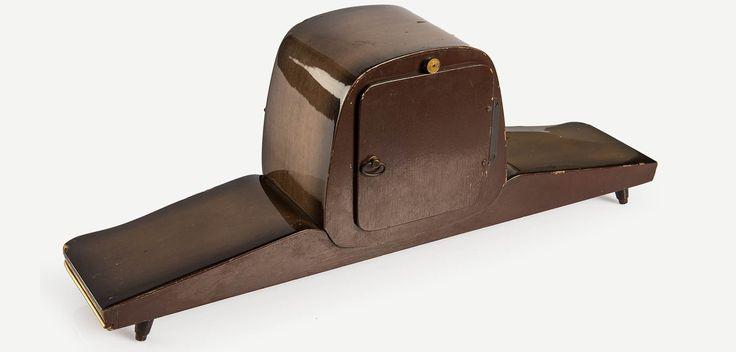 DUGENA 1940'lar Mid-Century tarzı vintage şömine saati | Dugena 1940s Midcentury mantel clock