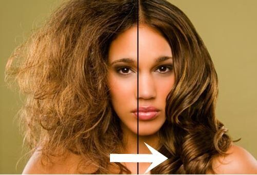 Fix Frizz And Lengthen Hair With This GreenGoddess #Hair #Trusper #Tip
