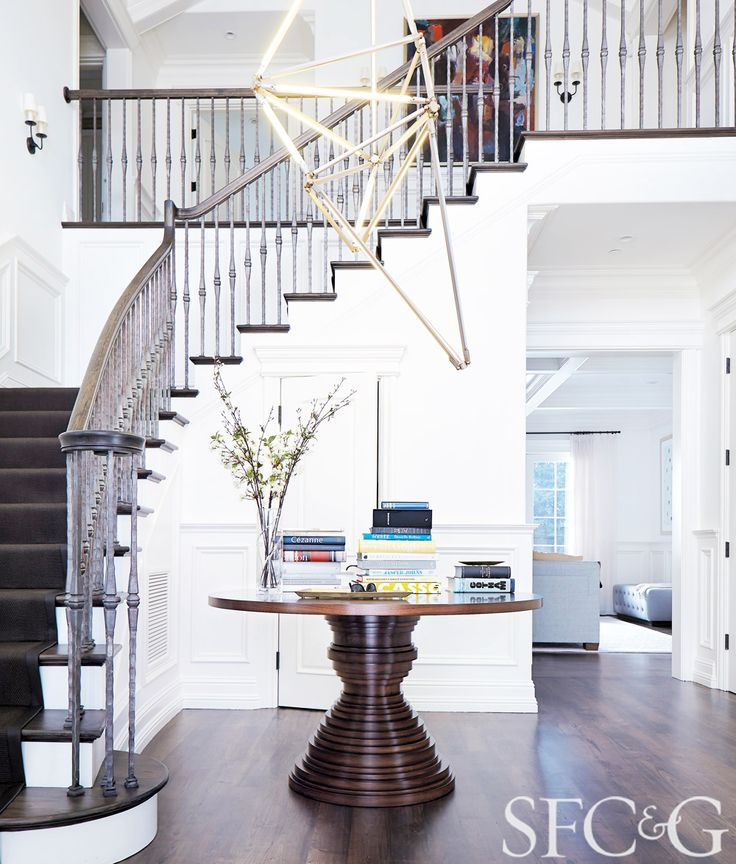 Tour A Sophisticated San Francisco Space Foyer TablesRound Dining