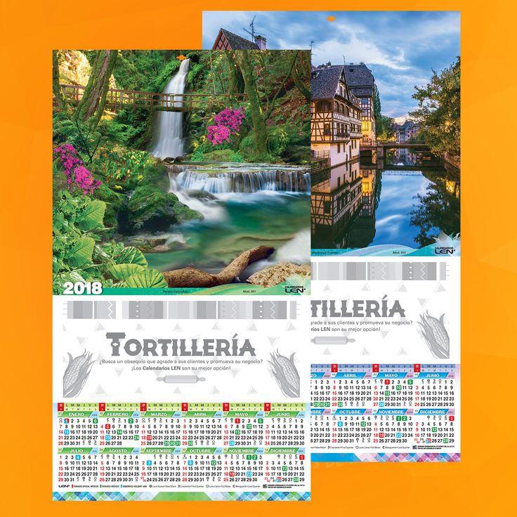 Calendario en cartulina, cuenta con 50 modelos en tamño de 24.7 x 42.8 cm. En cartulina sulfatada con barniz UV y ojillo para colgar.