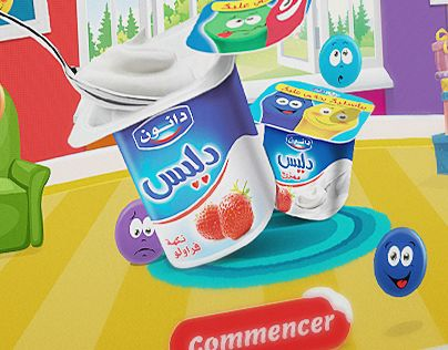 """Check out new work on my @Behance portfolio: """"Facebook app - Délice Danone"""" http://on.be.net/1O25Por"""