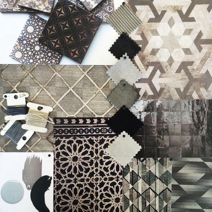 Moodboard for our Marisol Collection. #warwickfabrics #moodboard