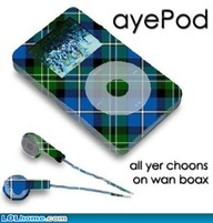 The aye pod