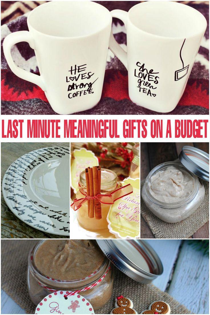Christmas Gifts On A Budget