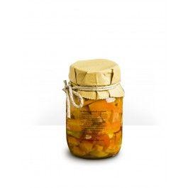 Giardiniera Luciana in olio. Un tripudio di verdurine croccanti! #verdure #sottolio #madeinitaly #parma #parmafood #parmigianoreggiano