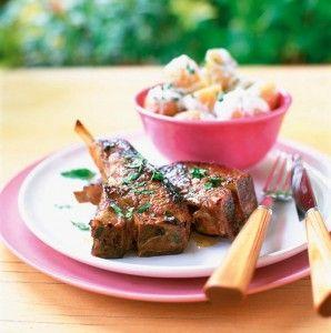 Tasty tikka lamb chops! Grill and go!