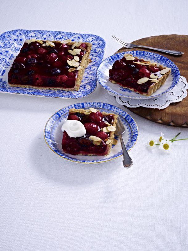 Rezept kuchen waffeln rote grutze