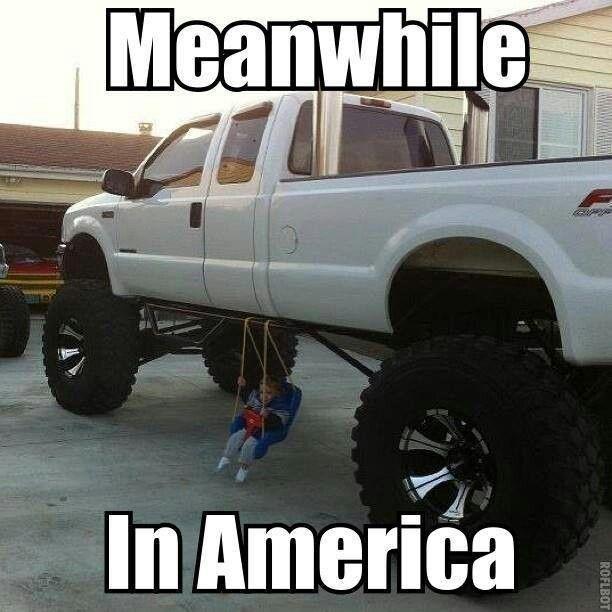Blonde Jokes Big Red Truck